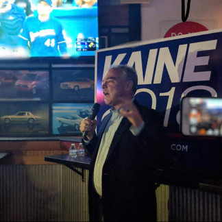 Evening with Tim Kaine