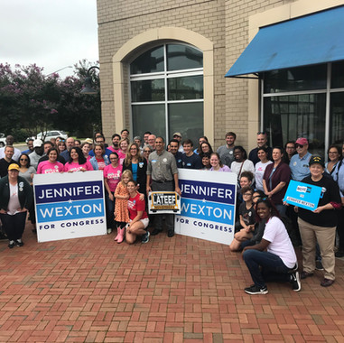 VAYD Campaign Invasion for Jennifer Wexton