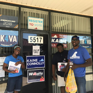 Canvassing in the 1st Congressional District