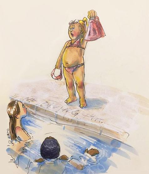 Susue at the Pool.jpg