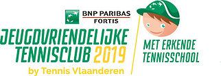 Logo Jeugdvriendelijke Tennisclub 2019 m