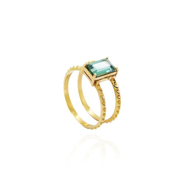 Anel Duplo - Ouro + Pedra verde.jpg