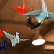 kraanvogels origami