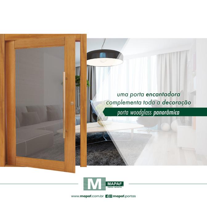 Porta Woodglass PANORÂMICA