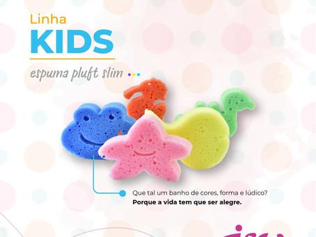 LINHA KIDS - Espuma pluft slim