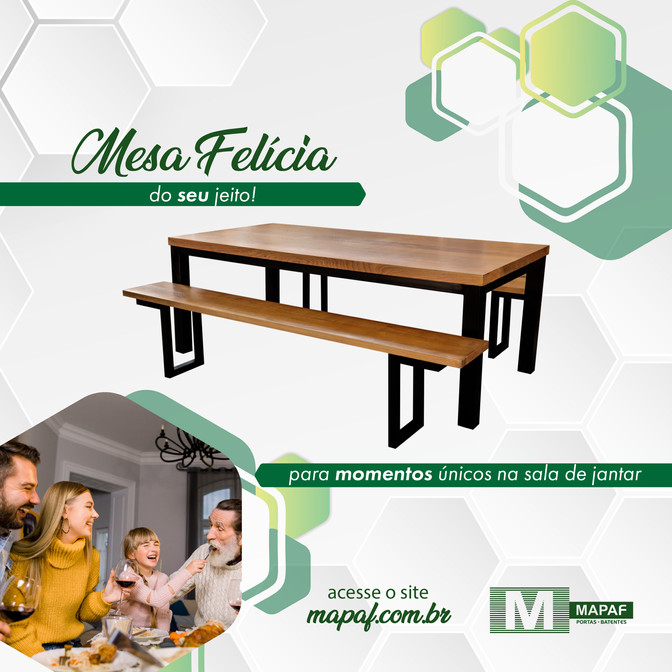 Procurando por uma mesa resistente, versátil e linda? 😐