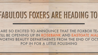 FoxBox is going to JHB!
