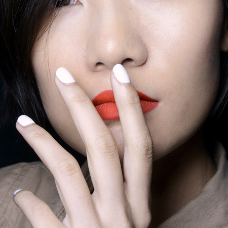 white-nails-colour-trend-spring-summer-2014-nail-trends-lepore-fashion-week-ss14