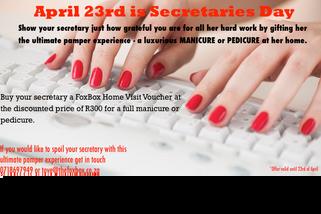 Secretaries Day 23rd of April