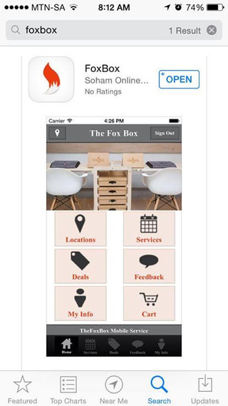 FoxBox Launches it very own App!