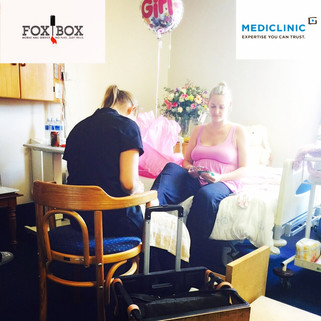 FoxBox Brings Pampering to MediClinic in Cape Town
