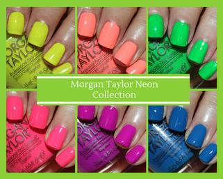 New Morgan Taylor Neon Color Collection