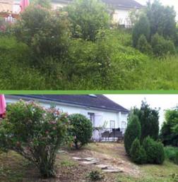 Idnet - Débrouissaillage et remise en état jardin