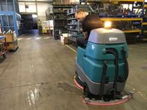 Idnet - Nettoyage entrepôt