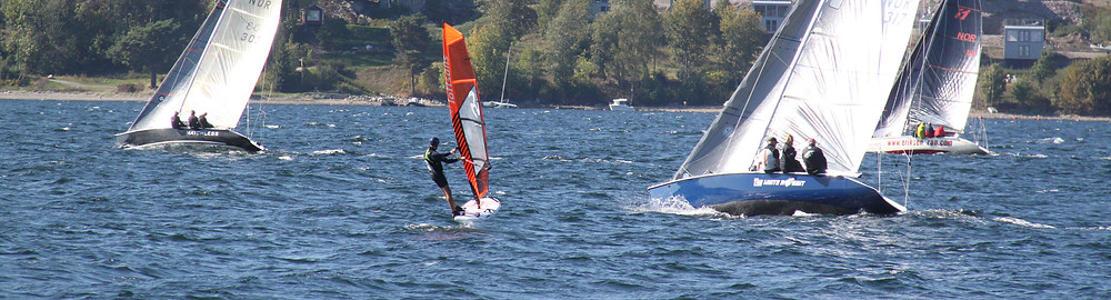 Windsurf foiling in Norway