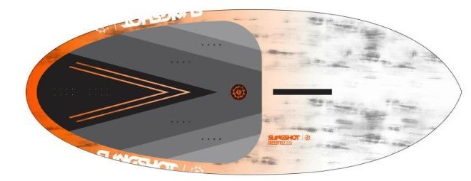 Slingshot foil freestyle board 87 and 115L