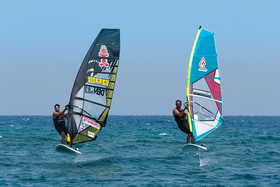 Learn to windfoil in Lanzarote, Spain