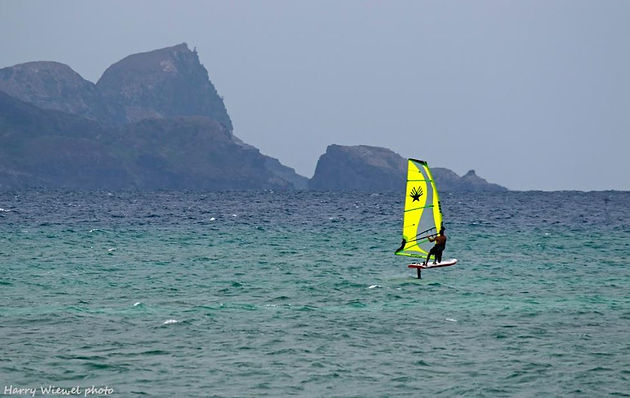 Interview With David Ezzy, Designer Of The Hydra Windfoil Sail