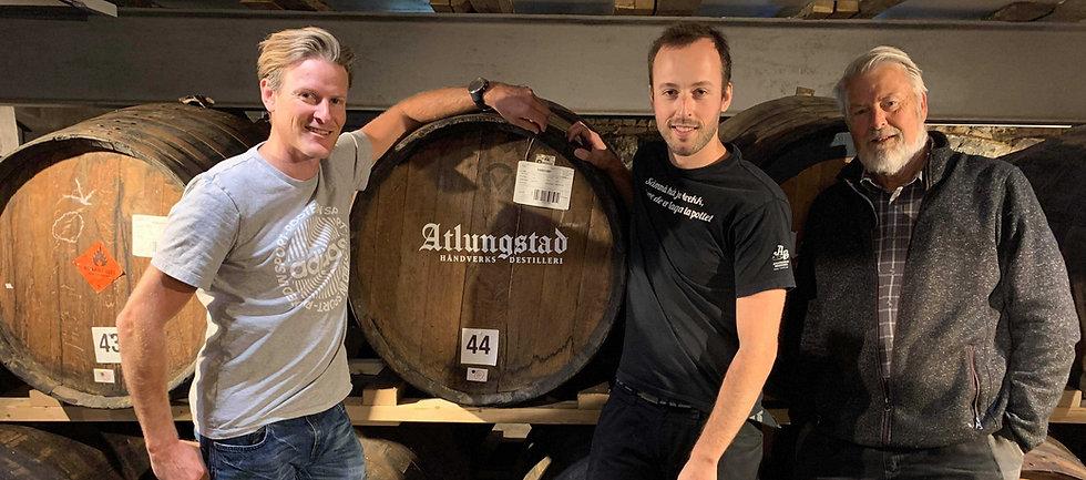 Atlungstad distillery's team