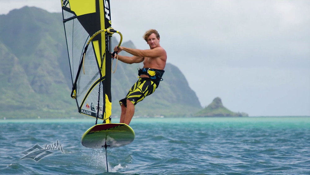 Robby Naish windfoil