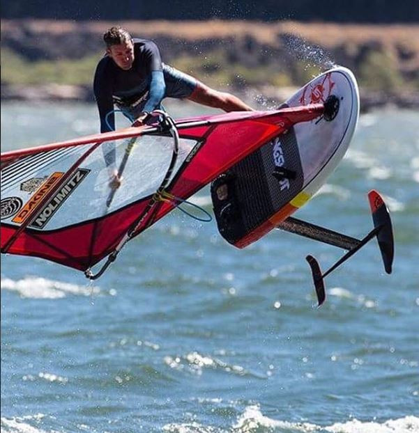 WYATT Miller of slingshot freestyle-foiling