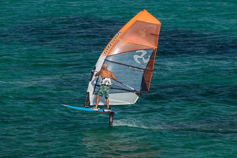 Loftsail skyscape windsurfing foil sail