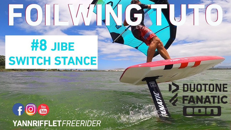 8- JIBE SWITCH STANCE