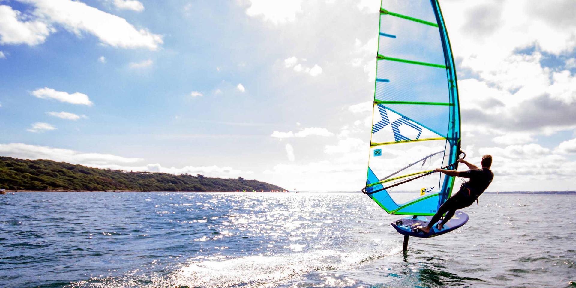 xo fly windsurf foil sail