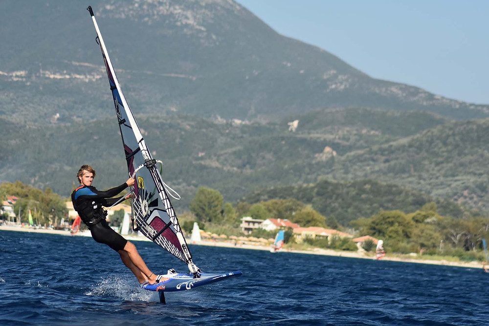 Will Graham foiling in GReece