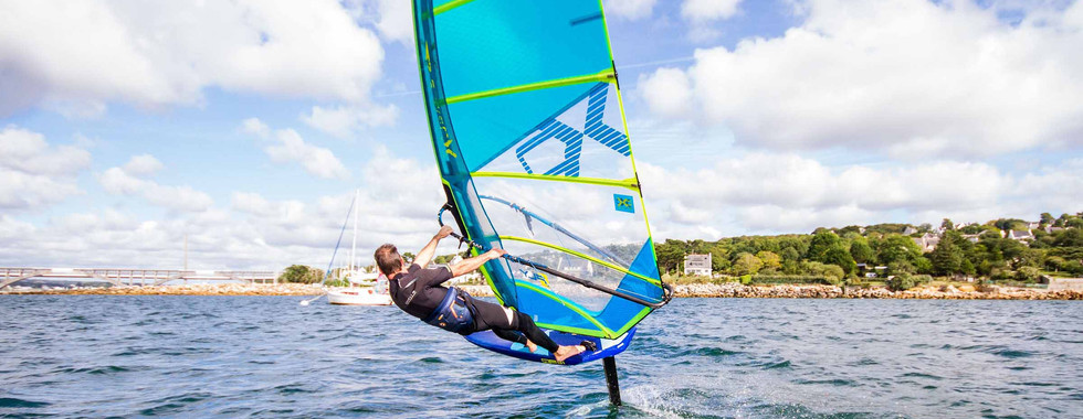 Windfoiling sail xo fly