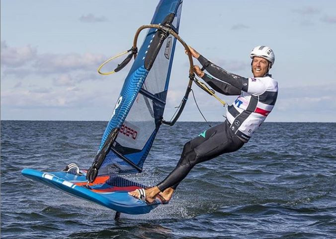 Sebastian Kördel windsurfing foil