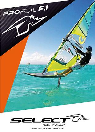 Select hydrofoil Profoil F.1 brochure