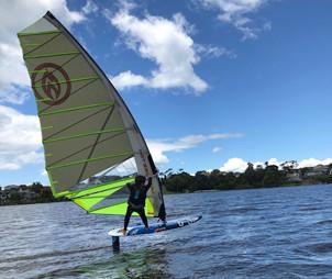 foil windsurfing matthew
