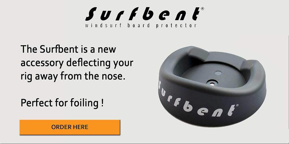 Surfbent windsurfing nose board protector