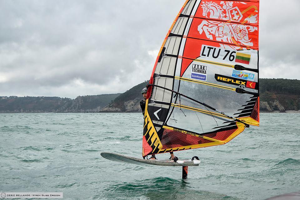 Gediminas Gresevičius foil windsurfing