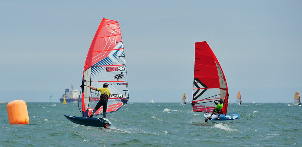 UKWA - National Championships Cup 2 - Stokes Bay - windfoil