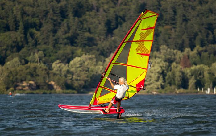 Sailworks windsurfing foil sail flyer