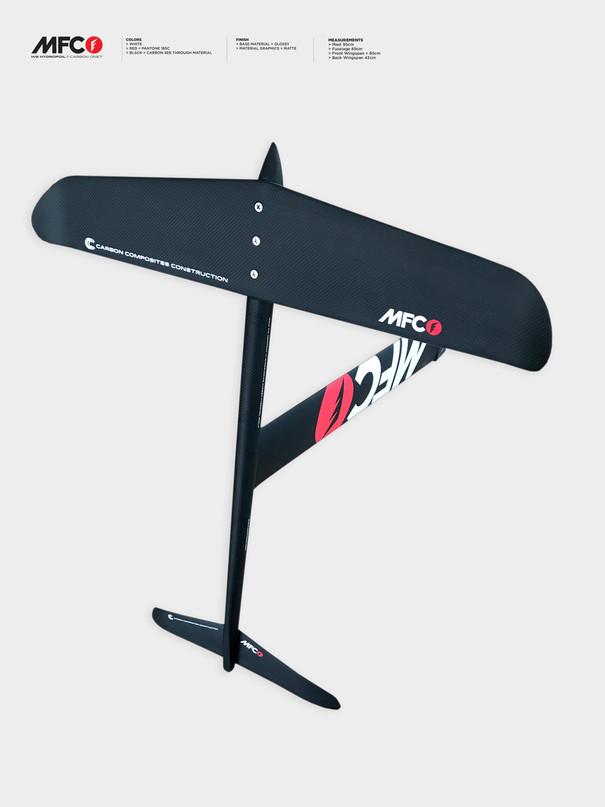 mfc k-one7 windfoil - black