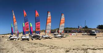 Sunny days and Catamarans are ready!