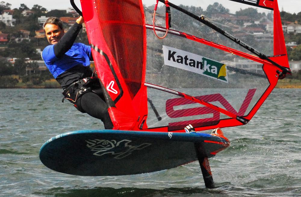 Marcello Morronne of Katanka windsurfing club