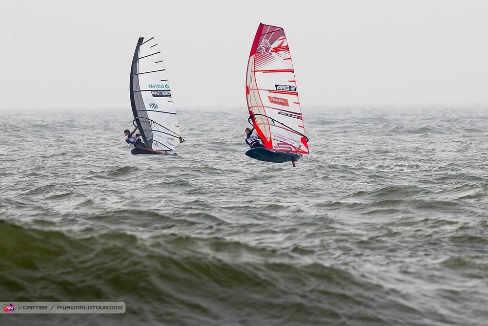 windfoil race PWA sylt