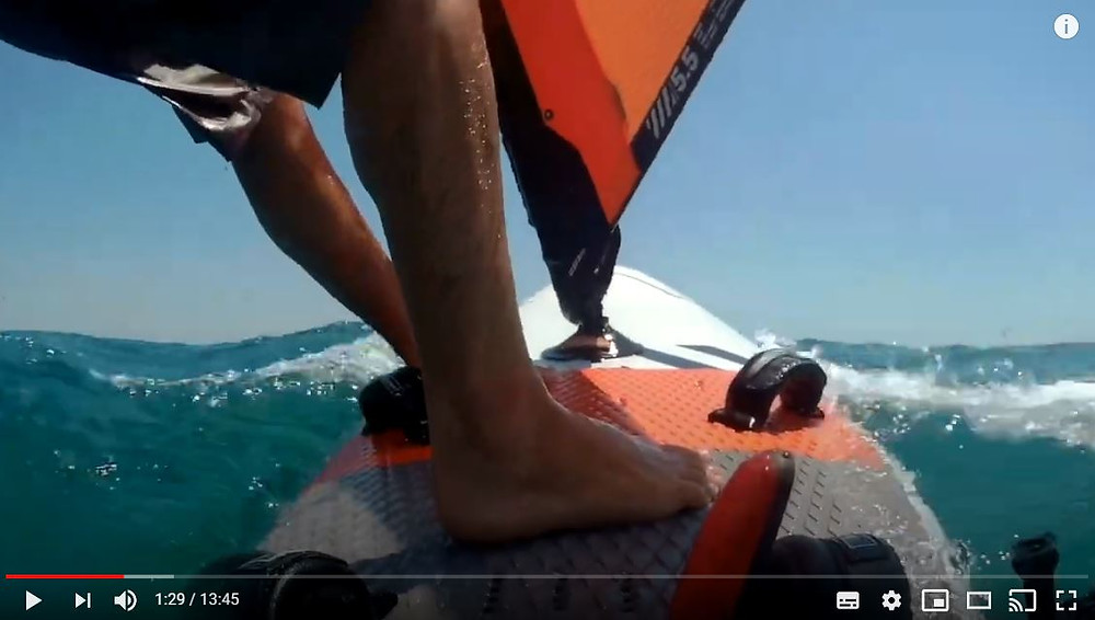 How to carve jibe