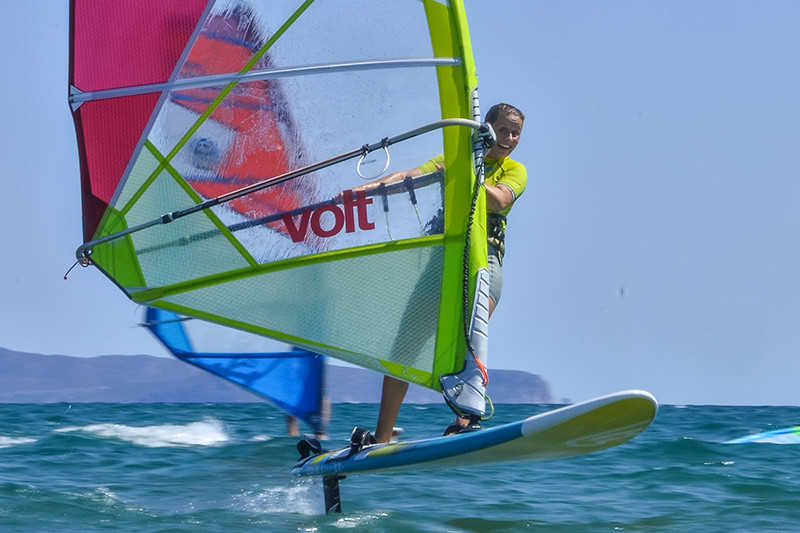 Windsurf foil in Golf de Roses