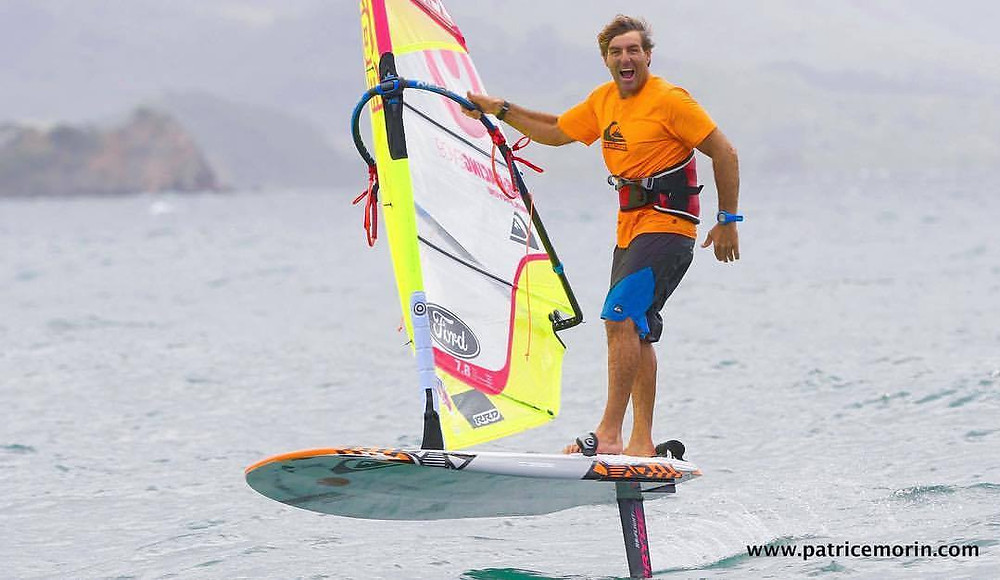 Windfoiling is a different sensation according to Antoine Albeau