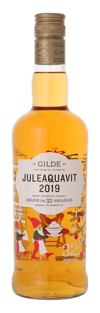Gilde aquavit jul Christmas 2019