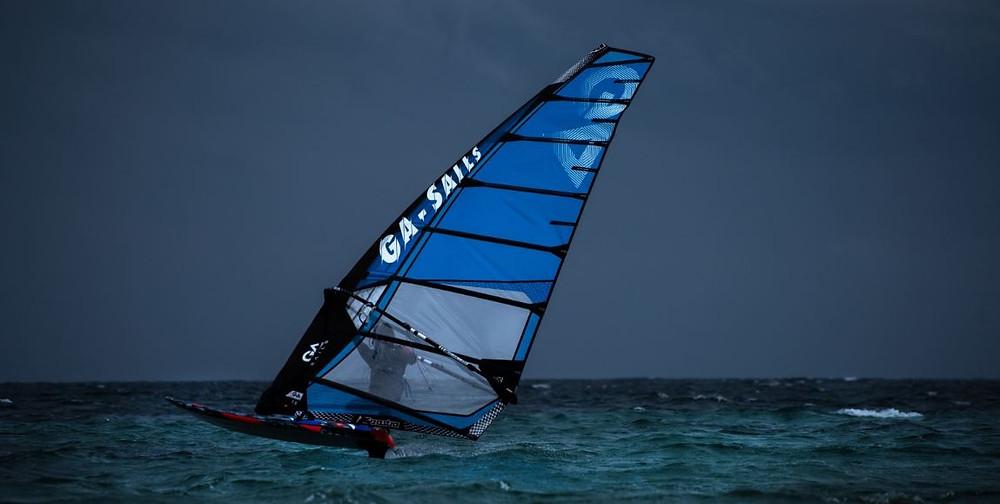 Gaastra vapor air windfoil sail racing
