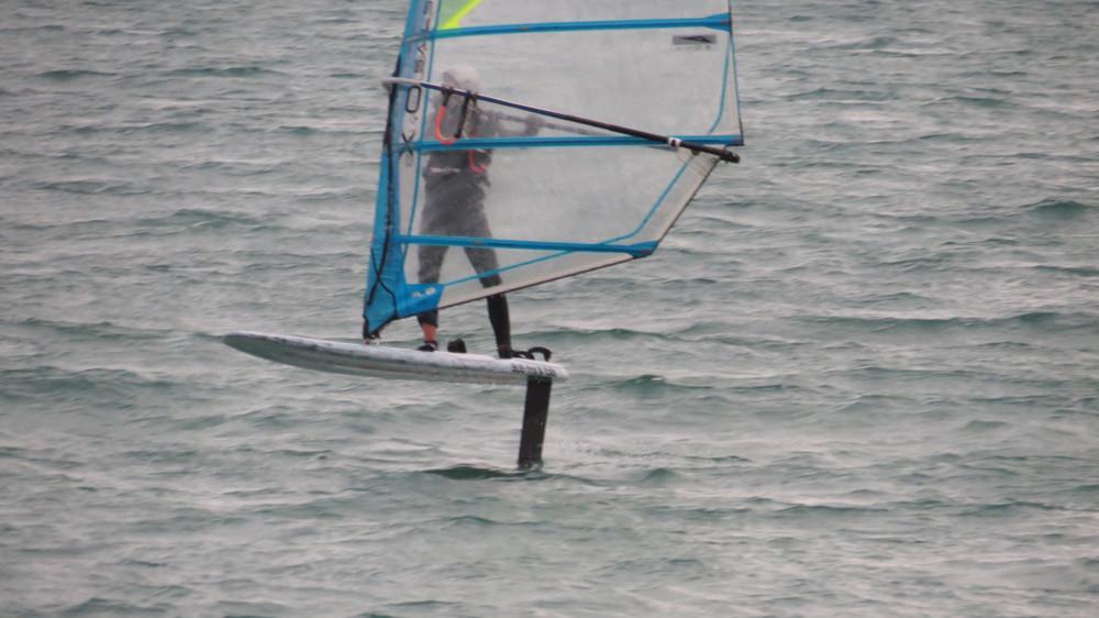 Bug Foil windsurf foiling