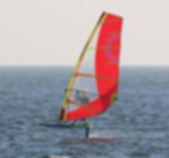 windfoiling in florida