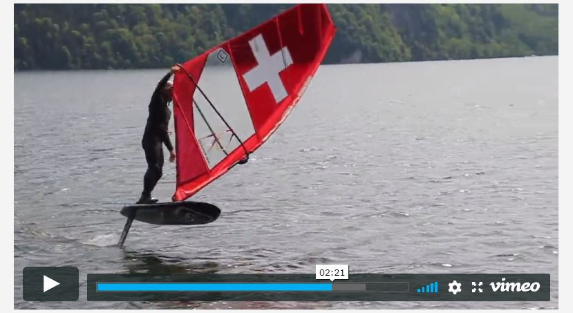 balz muller foiling freestyle