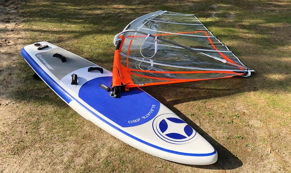 Unifiber Elevate 280 inflatable WindSUP